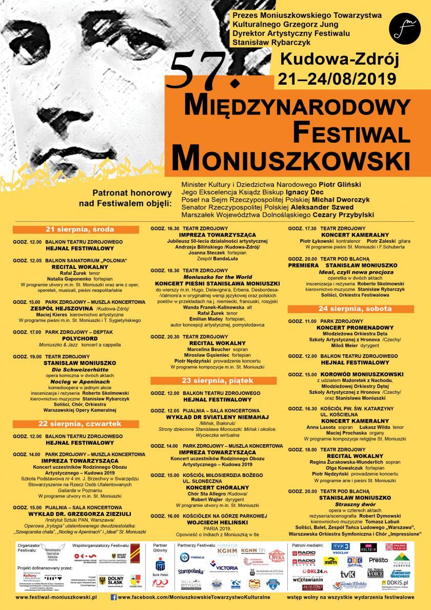 57 Festiwal Moniuszkowski w Kudowie-Zdroju