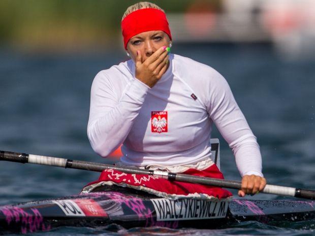 Marta Walczykiewicz nie mogła pogodzić się z porażką (fot. PAP/Adam Ciereszko)