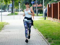 Monika jak zwykle wybrała się na poranny jogging (fot. TVP)
