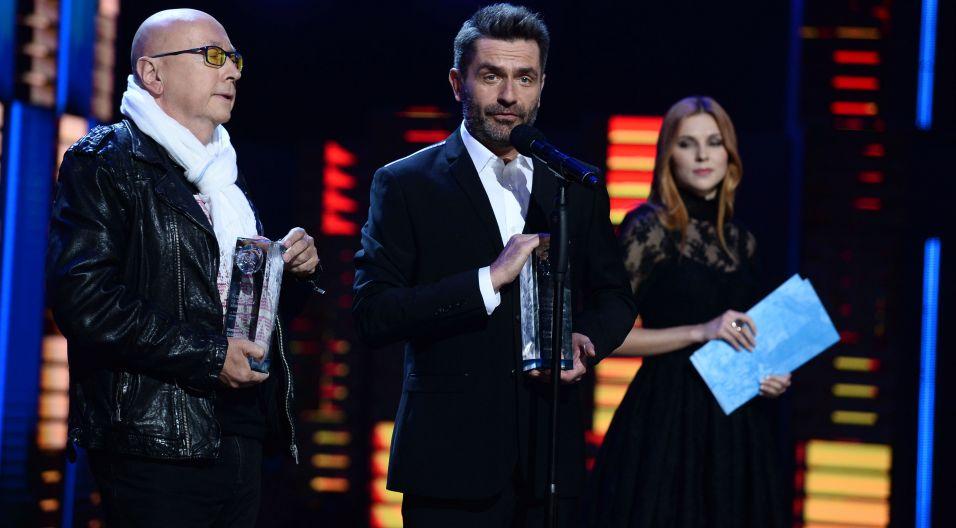 Nagrodę za najlepszą kompozycję otrzymała nieobecna Ania Dąbrowska za piosenkę wykonaną przez Kasię Cerekwicką (fot. TVP)