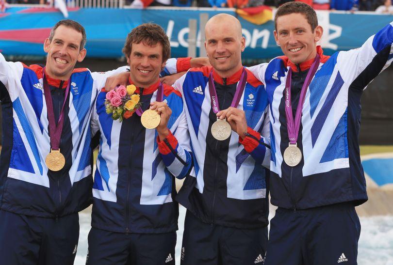 W konkurencji C2 złoto i srebro wywalczyli Brytyjczycy (fot. Getty Images)