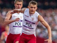 Sztafeta 4x100 pobiła rekord Polski (38,31), ale nie wystarczyło to do awansu do finału (fot. PAP/EPA)