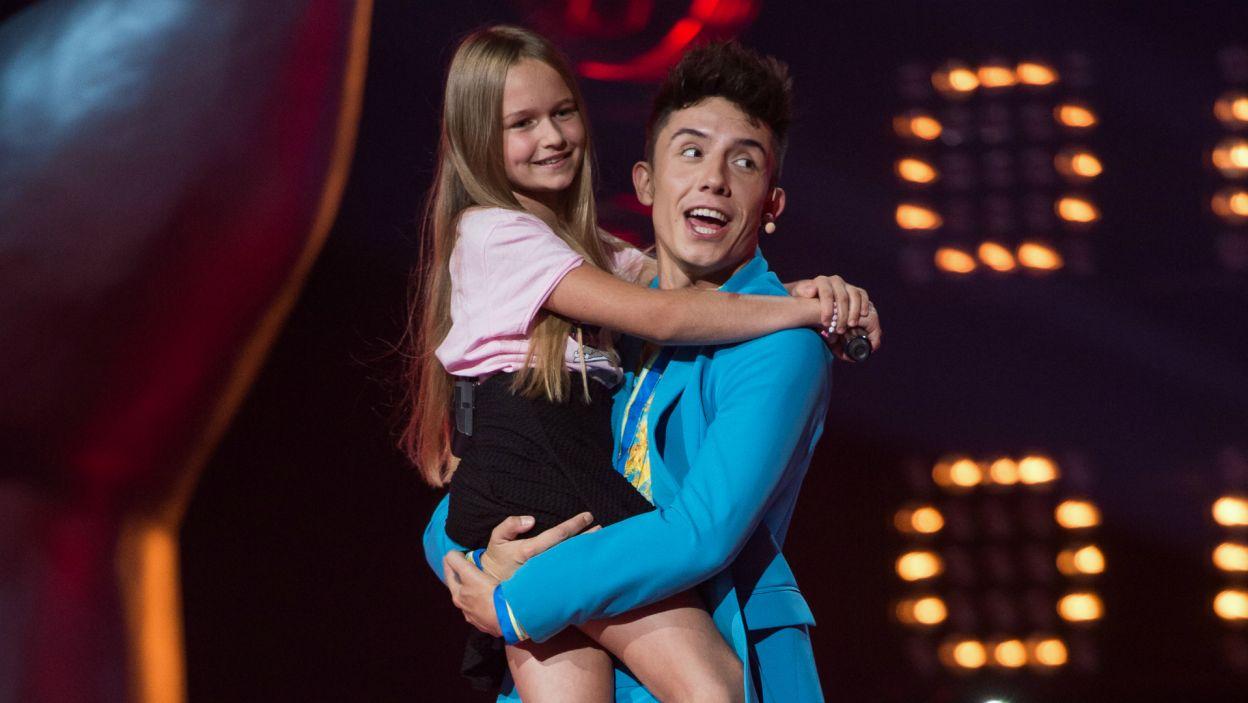 Jednak serce młodej wokalistki podpowiadało jej tylko jedno – Dawid! (fot. J. Bogacz/TVP)