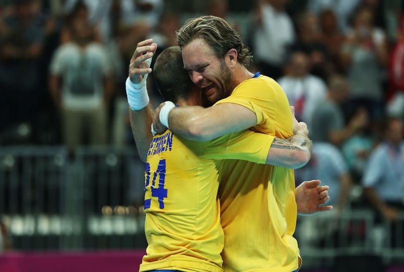 Szwedzi wygrali z Węgrami 27:26 i w niedzielę zagrają o złoto (fot. Getty Images)