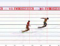 Fotofinisz rekordowego biegu (fot. Getty Images)