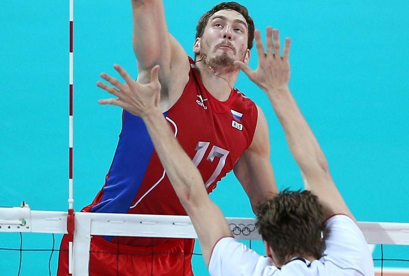 Maksim Michajłow, atakujący reprezentacji Rosji (fot. Getty Images)
