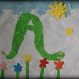 Taki portret Anakondy namalowała Weronika Szymczak, 6,5 roku