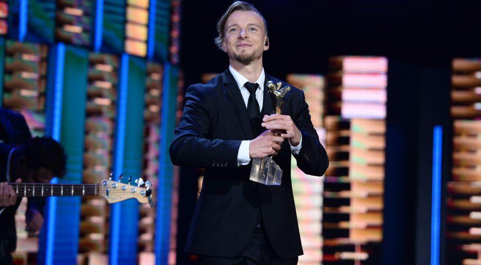 Podczas koncertu 10-lecie działalności obchodził zespół Feel (fot. TVP)