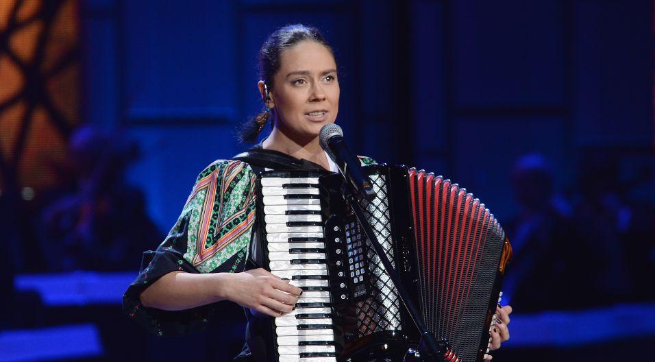 """""""Rebekę"""" przypomniała Karolina Cicha (fot. I. Sobieszczuk/TVP)"""