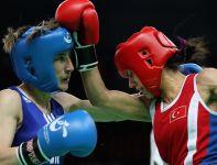 Jedyna polska pięściarka, która wystąpi w Londynie – Karolina Michalczuk (L) (fot. Getty Images)