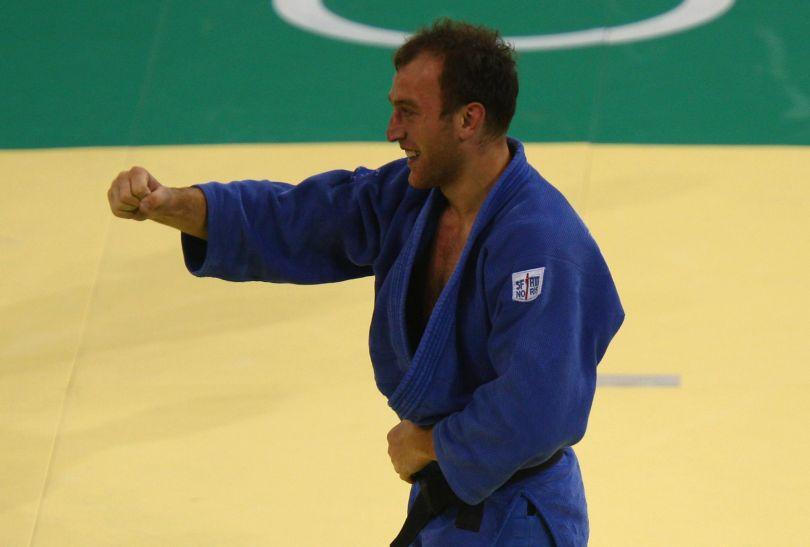 Irakli Cirekidze wygrał w kategorii do 90 kg (fot. Getty Images)
