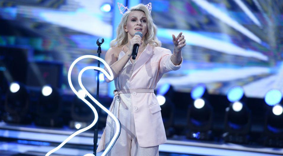 Swój talent miała okazję udowodnić Sarsa. Mimo problemów technicznych, wokalistka świetnie sobie poradziła a publika była zachwycona! (fot. J. Bogacz/TVP)