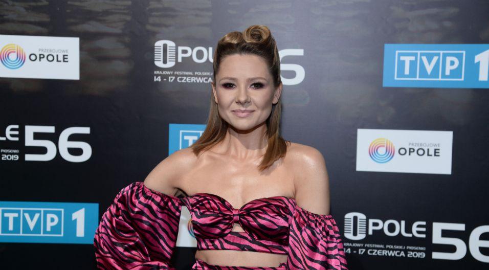 Dla Anny Karwan zaśpiewanie w Opolu to spełnienie jej marzeń (fot. Jan Bogacz/TVP)