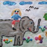Julia Martyn, 6 lat,  Skopów