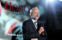 """Na premierowym pokazie pierwszego odcinka """"Powstania"""", nie mogło zabraknąć prezesa TVP, Juliusza Brauna (fot. Jan Bogacz)"""