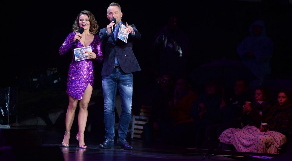Koncert prowadziła Edyta Herbuś wraz z Rafałem Patyrą (fot. TVP)