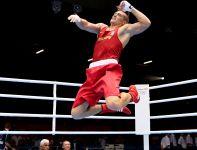 Usyk po raz pierwszy w karierze zdobył medal igrzysk olimpijskich (fot. Getty Images)