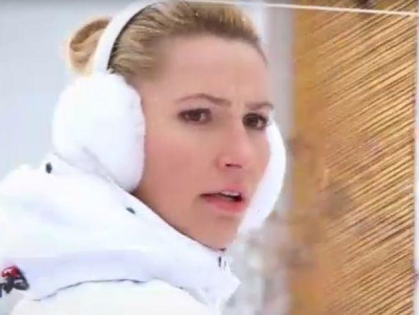 Sylwia Gruchała zagrzewa do ćwiczeń