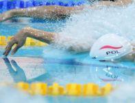 Trzecia konkurencja to pływanie (fot.PAP/Adam Ciereszko)