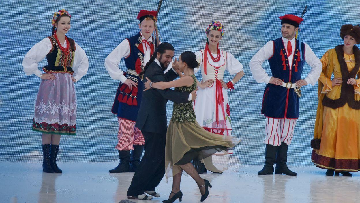 ... Amerykę Południową reprezentowało argentyńskie tango (fot. Mariusz Süss/TVP3 Kraków)
