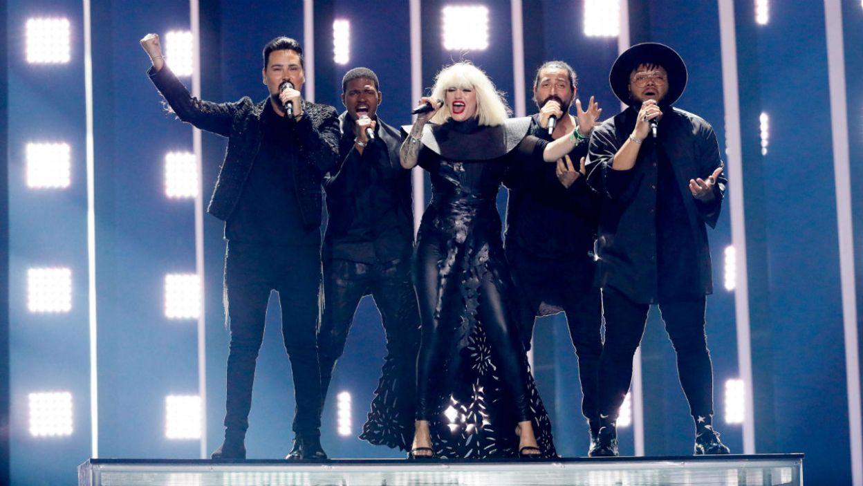 """Występ Equinox był nieco chaotyczny, ale utwór """"Bones"""" zrobił wrażenie na widzach. Czy Bułgaria stanęła na podium? (fot. Andreas Putting/eurovision.tv)"""