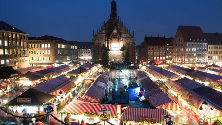 Niemiecki jarmark bożonarodzeniowy