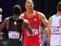 Ryan Bailey awansował do półfinału biegu na 100 metrów, nie udało się to Dariuszowi Kuciowi (fot. Getty Images)