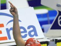 Dunka Lotte Friis wygrała finałowy wyścig na 800 m stylem dowolnym (fot. PAP)