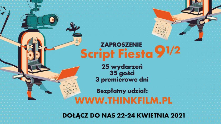 Poznaj swój kRAJ! Już w czwartek rusza Script Fiesta 9½. Święto scenarzystów w Twoim domu!