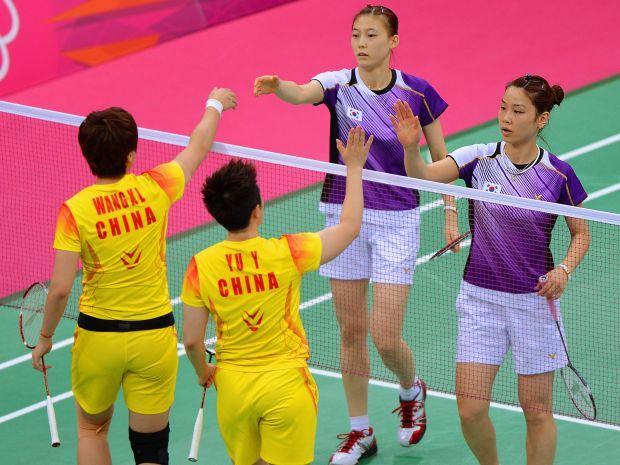 Mecz pomiędzy Chinkami i Koreankami wywołał oburzenie kibiców (fot. Getty Images)