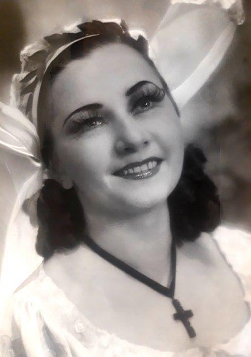Fot. D.F.A. Auber Fra Diavolo. Opera Śląska – 1953 r. Natalia Stokowacka – Zerlina. Arc. OŚ