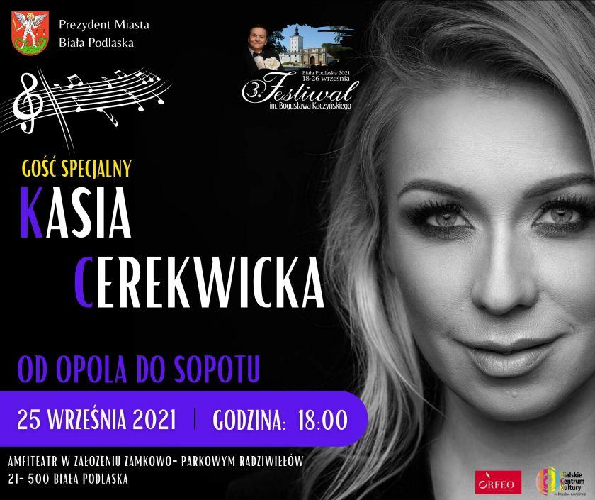 Kasia Cerekwicka na 3. Festiwalu im. Bogusława Kaczyńskiego