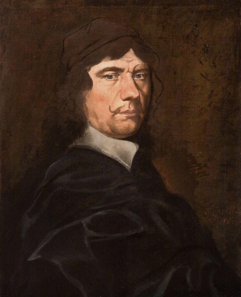 Michael Willmann, Autoportret, 1682, Muzeum Narodowe we Wrocławiu