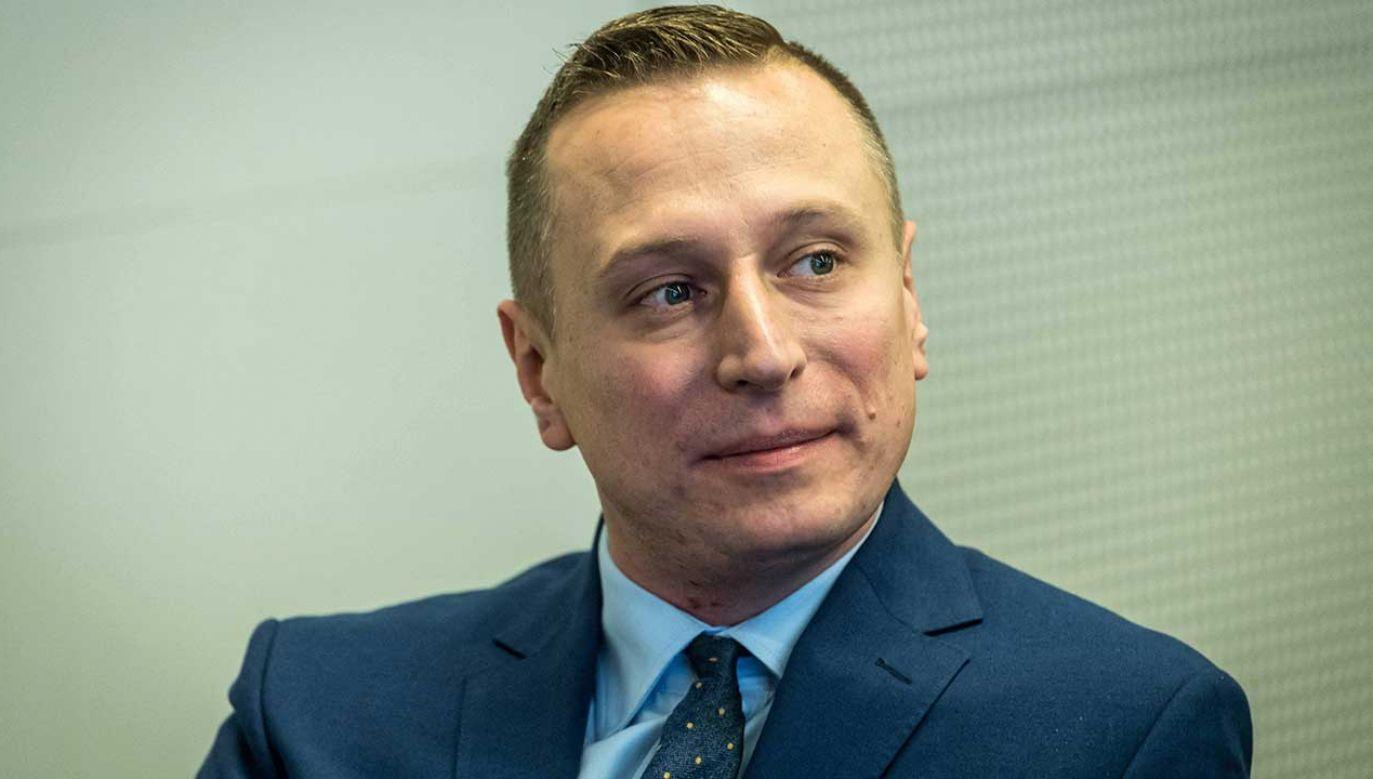 Krzysztof Brejza został mianowany szefem sztabu wyborczego opozycyjnego sojuszu (fot. arch. PAP/Tytus Żmijewski)