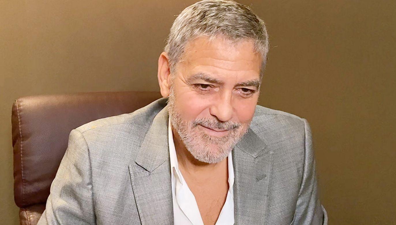 Clooney wcielił się w filmie w głównego bohatera (fot. BFI via Getty Images)