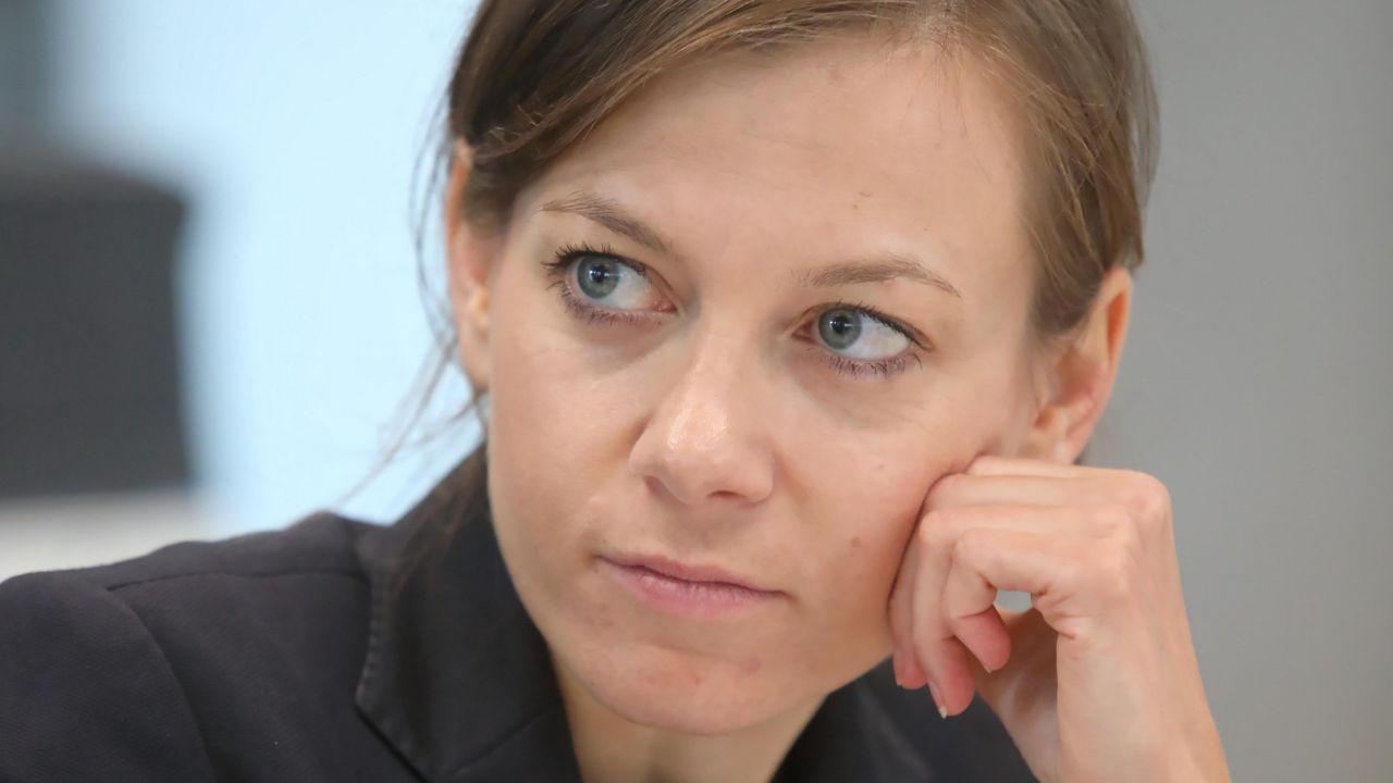 Zuzanna Rudzińska-Bluszcz (fot. PAP/Wojciech Olkuśnik)