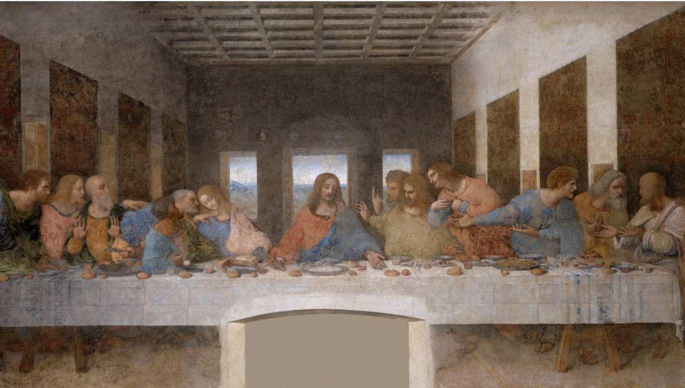 """""""Ostatnia Wieczerza"""" Leonarda da Vinci (fot. Wikimedia Commons)"""