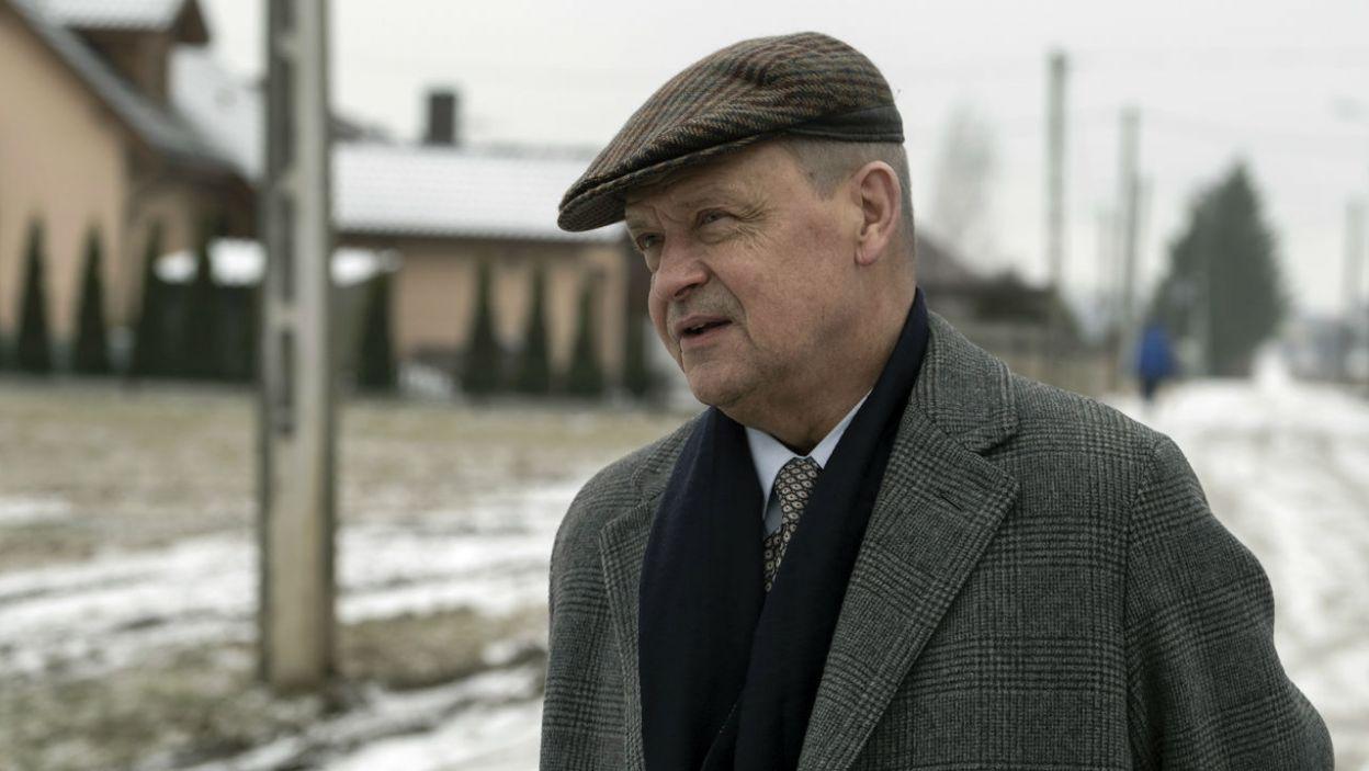 Jan Frycz zagrał ojca ukochanej Zenka, Danki (fot. TVP)