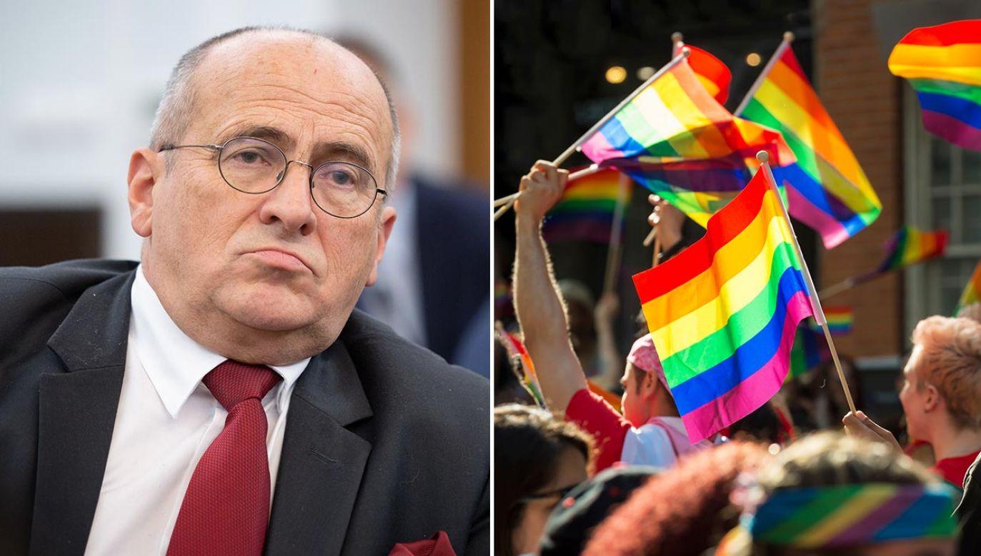 Szef MSZ o liście ambasadorów dot. społeczności LGBT (fot. Forum/Mateusz Wlodarczyk; Shutterstock/lazyllama)
