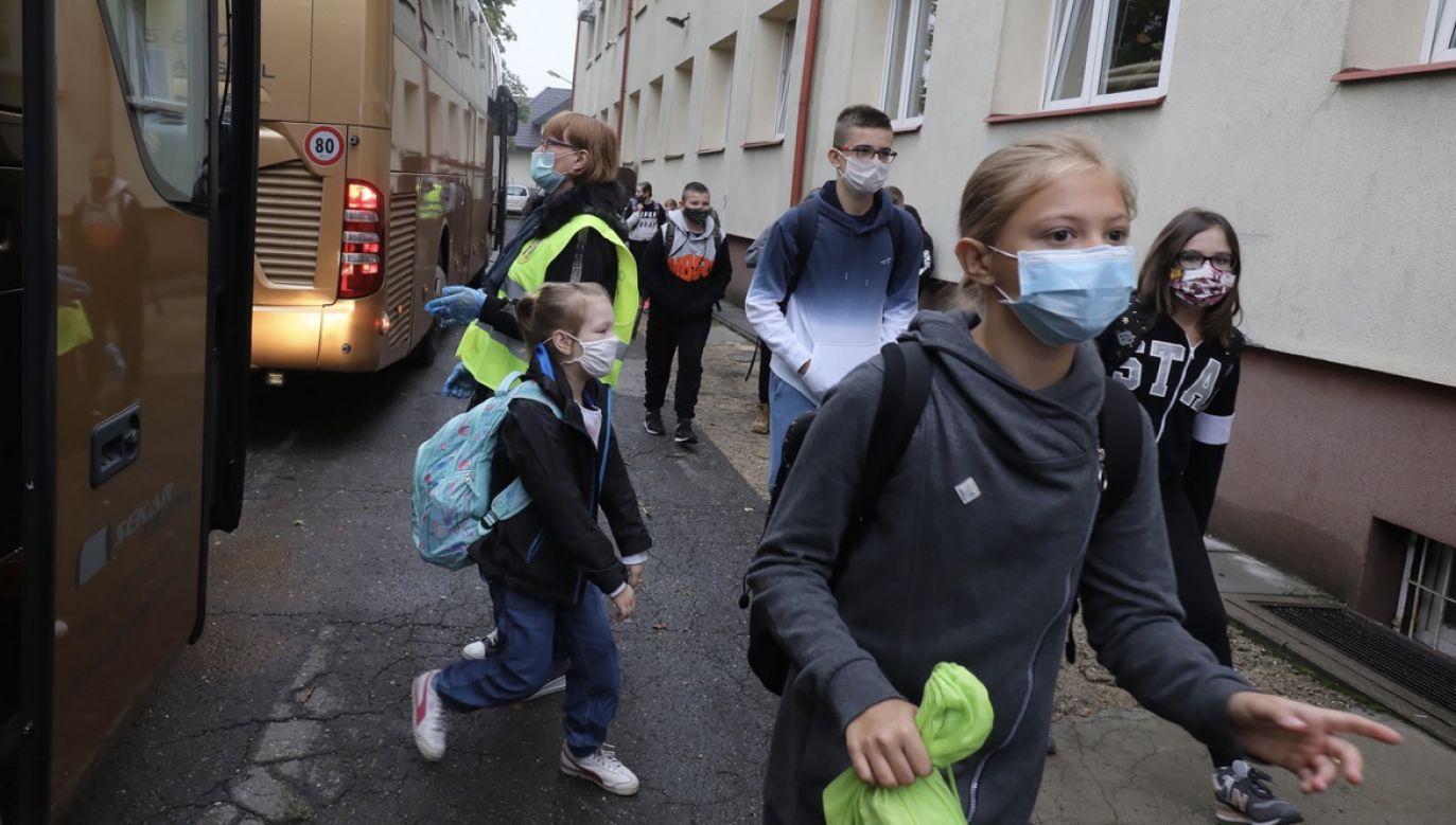 Odniósł się teżdo pytanie, do jakiego poziomu zachorowań dojdzie w Polsce (fot. arch.PAP/Paweł Supernak)
