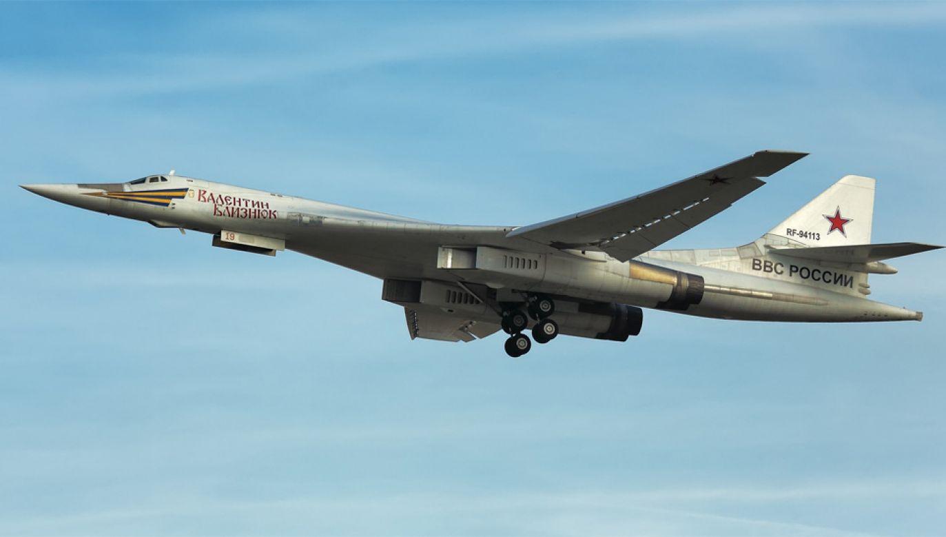 Tu-160 osiąga prędkość ponaddźwiękową (fot. Wiki 4.0/Sergey Lysenko)
