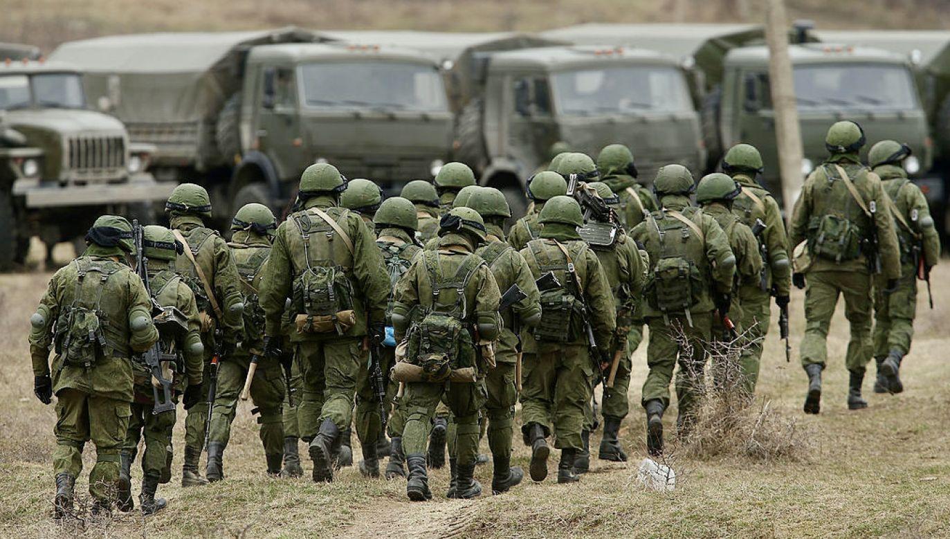 Ponad 200 rosyjskich żołnierzy nielegalnie przekroczyło granicę w Donbasie (fot. Sean Gallup/Getty Images)