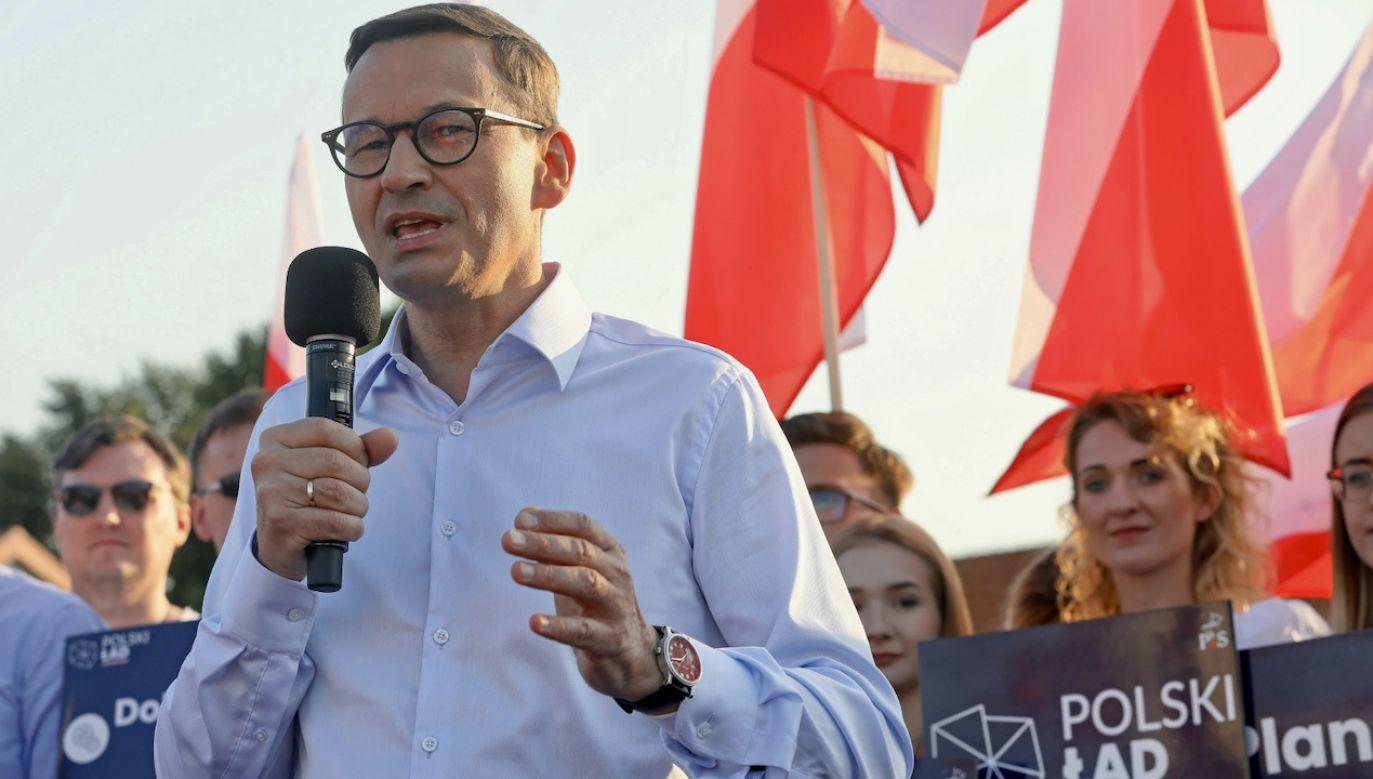 Premier Mateusz Morawiecki omówił projekty z szefami kilku resortów (fot. PAP/Artur Reszko)