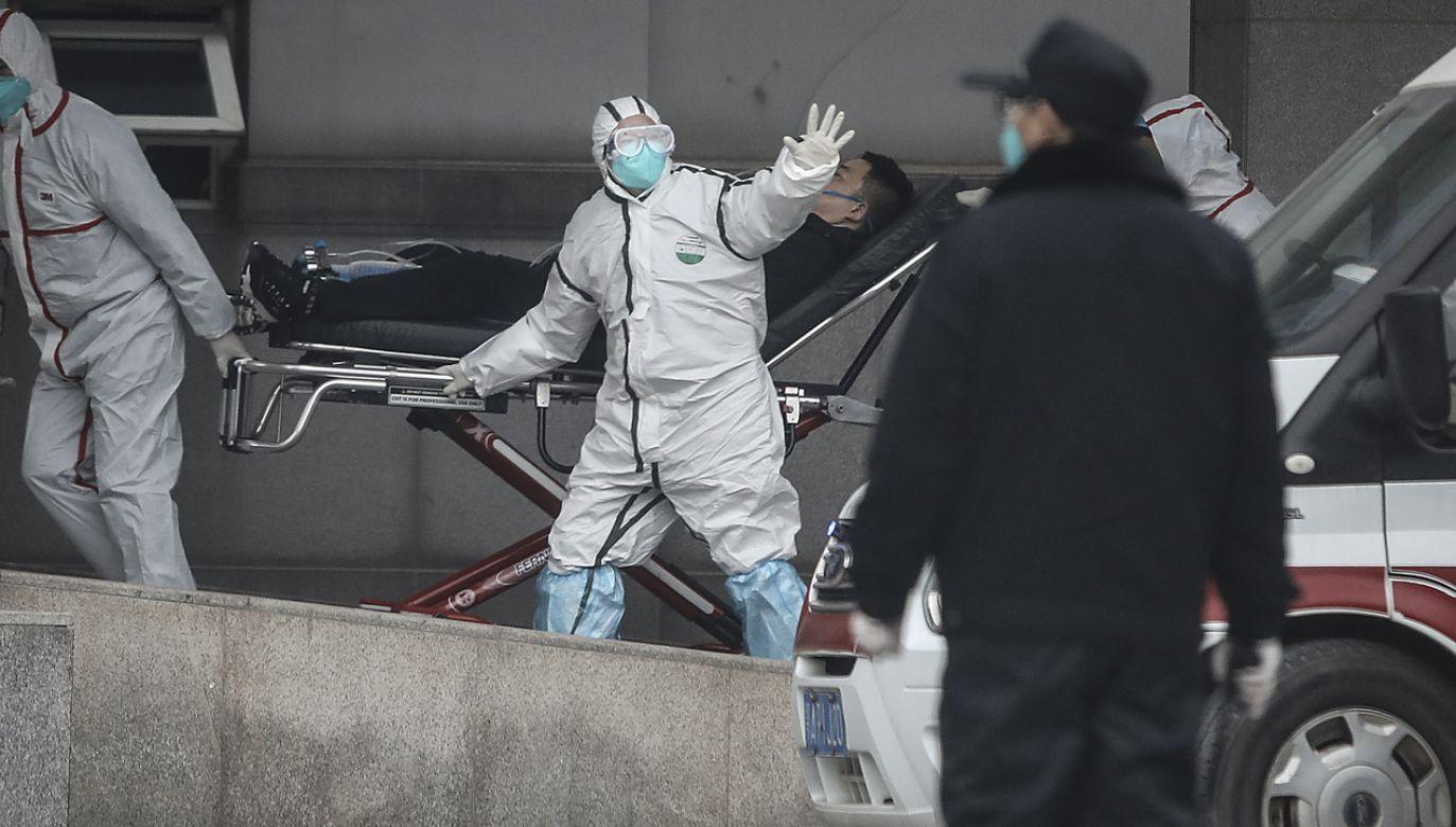 Skierowano dodatkowy personel medyczny i leki do Wuhan, które pozostaje miastem całkowicie zamkniętym (zdjęcie ilustracyjne) (fot. Getty Images)
