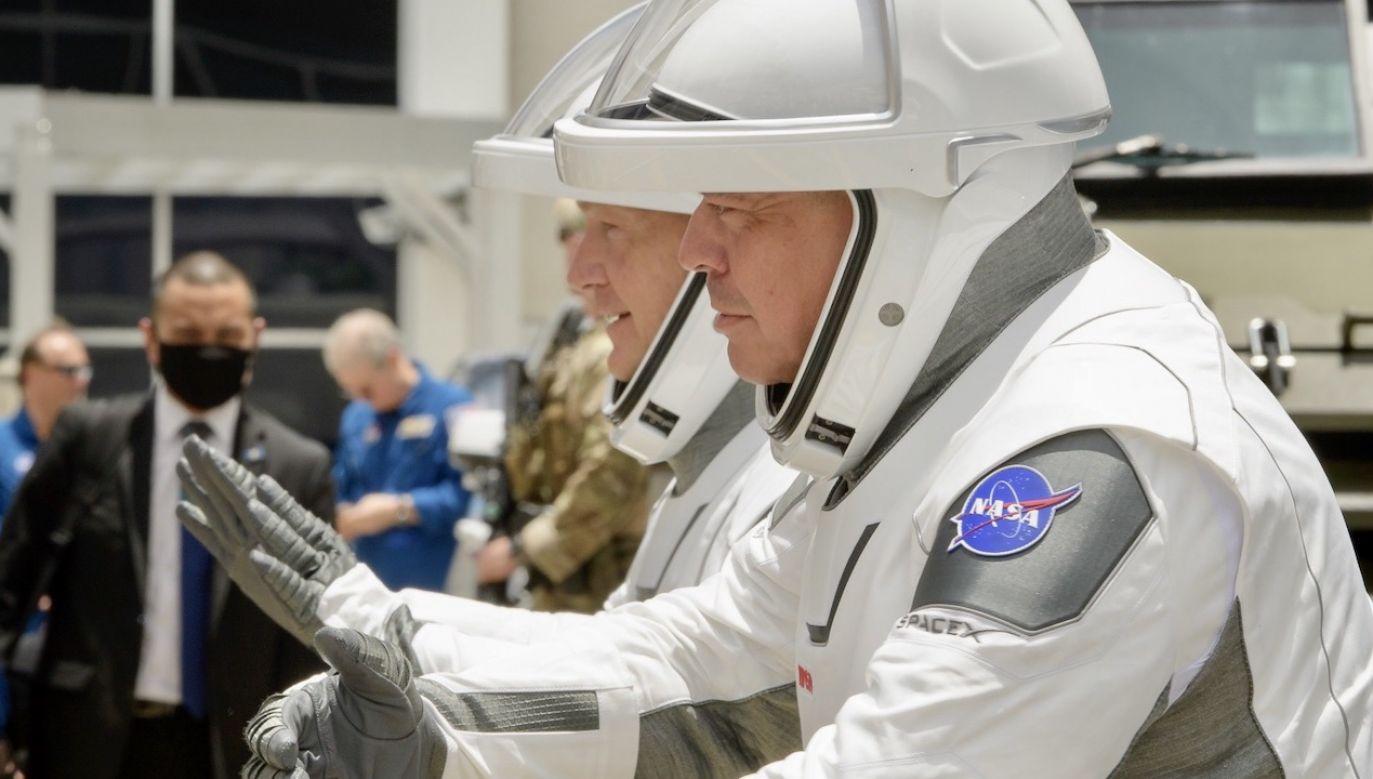 To pierwsza od 9 lat misja załogowa, która wystartuje z terenu Stanów Zjednoczonych (fot. PAP/EPA/BILL INGALLS / NASA / HANDOUT)