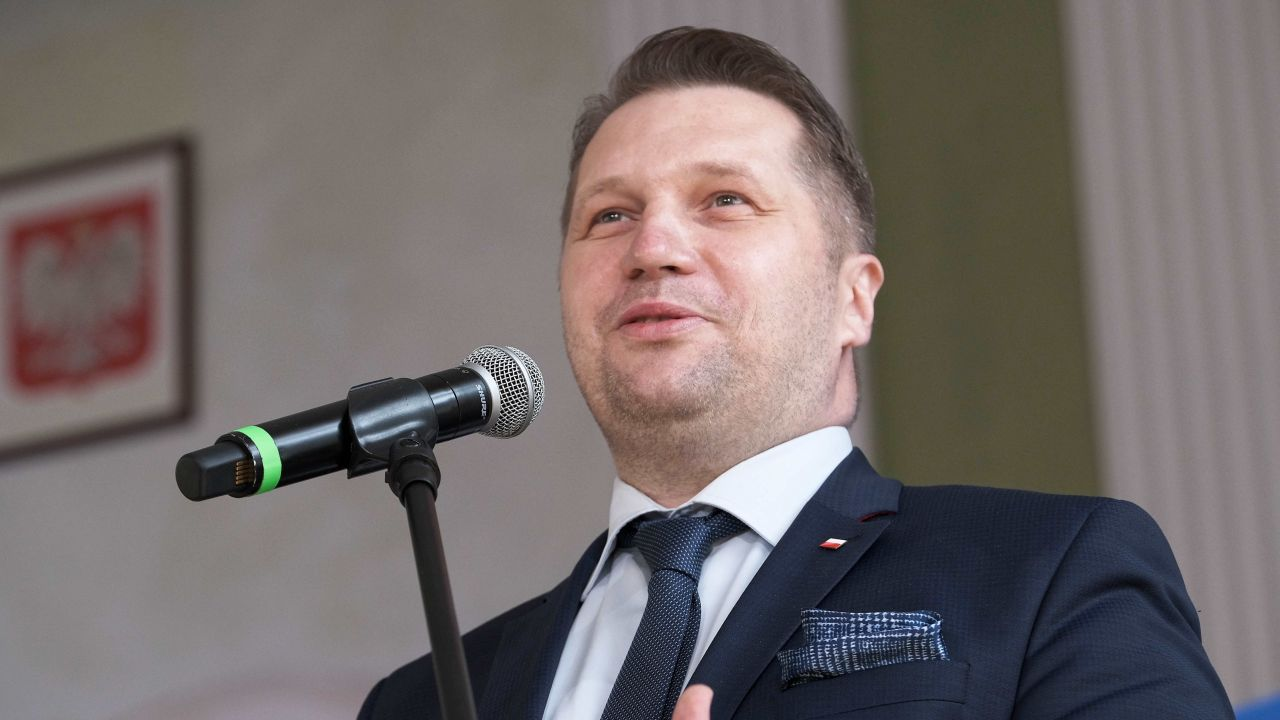 Minister edukacji i nauki Przemysław Czarnek (fot. PAP/Mateusz Marek)