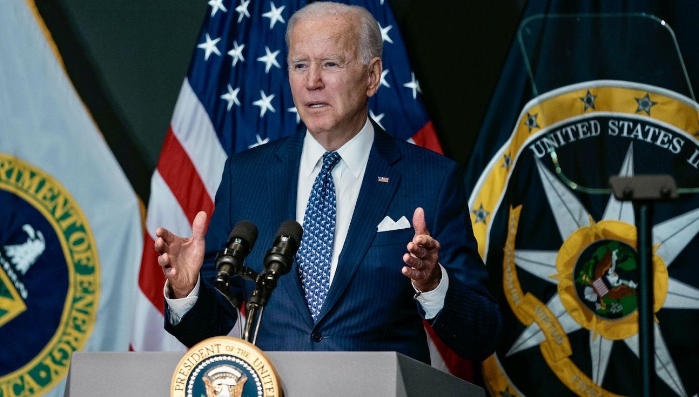 Joe Biden zaznaczył, że możliwości ataków w cyberprzestrzeni są coraz większe (fot. PAP/EPA/Alex Edelman)
