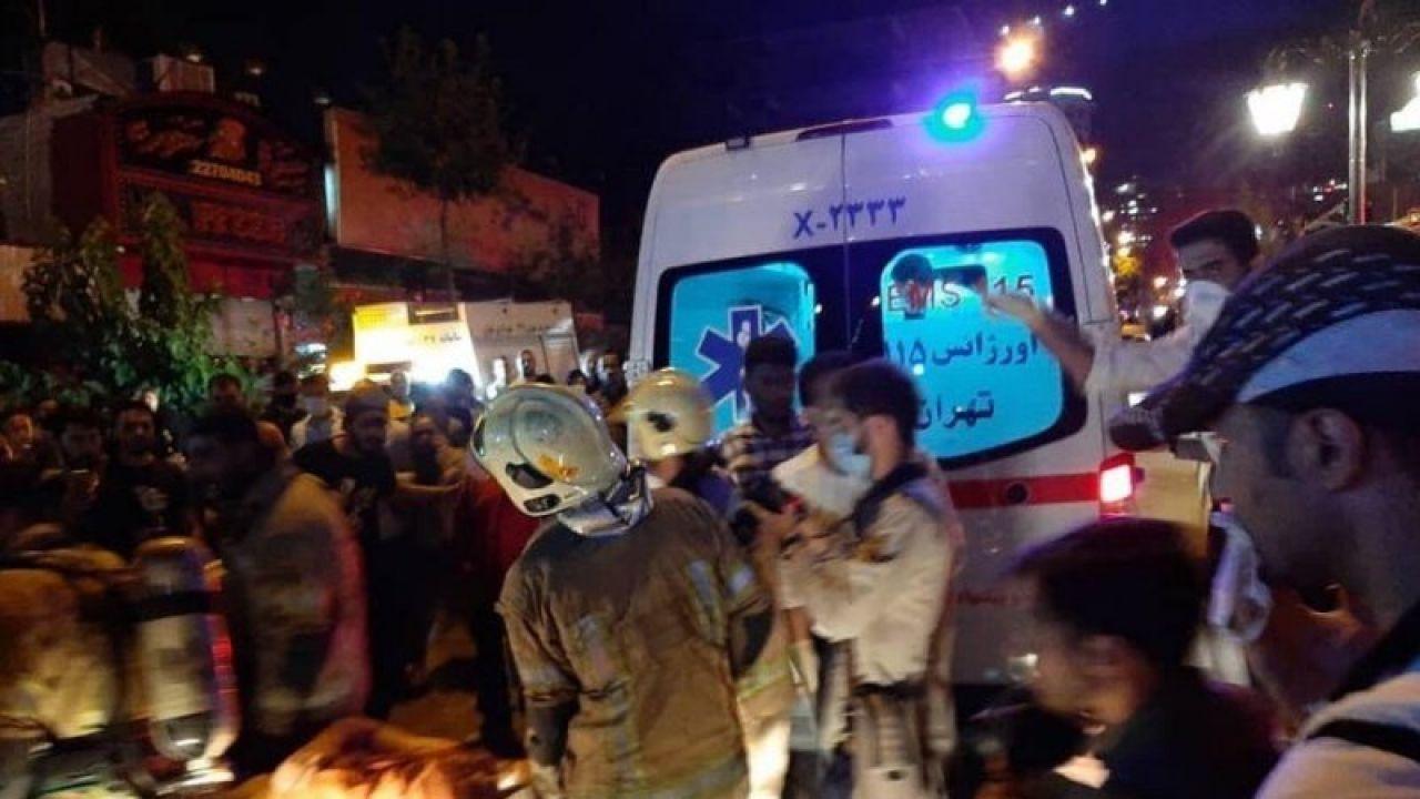 Zginęło co najmniej 13 osób (fot. TT/IranPressNewsAgency)
