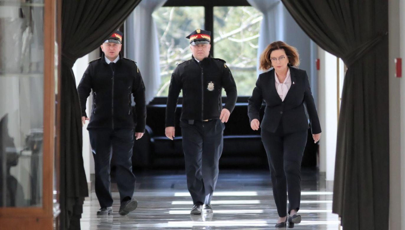 KandydatkęPO dogania prezes PSL (fot.PAP/Leszek Szymański)