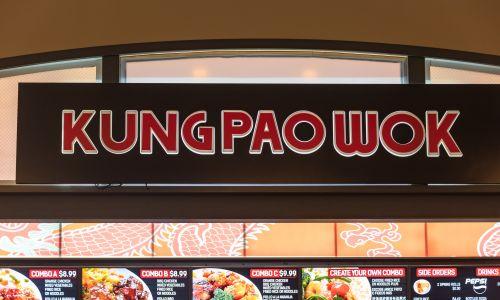 Kung Pao Wok – chińska restauracja fast food w Nowym Jorku. Fot. Roberto Machado Noa / LightRocket via Getty Images